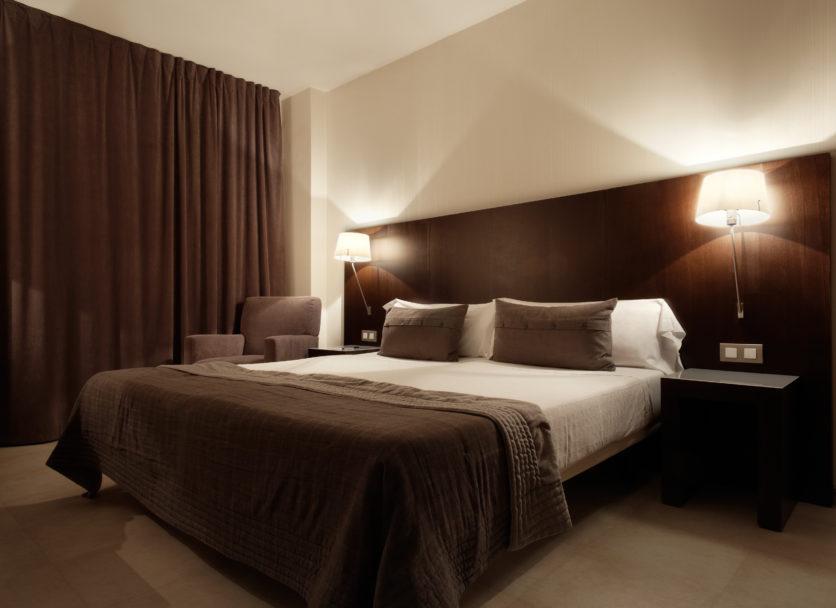 Modern luxury bedroom, interior design