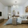 Bedroom modern interior